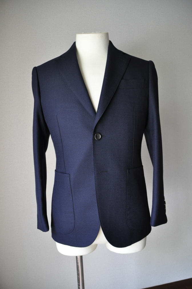 DSC26603 お客様のジャケットの紹介-CANONICO ホップサックジャケット-