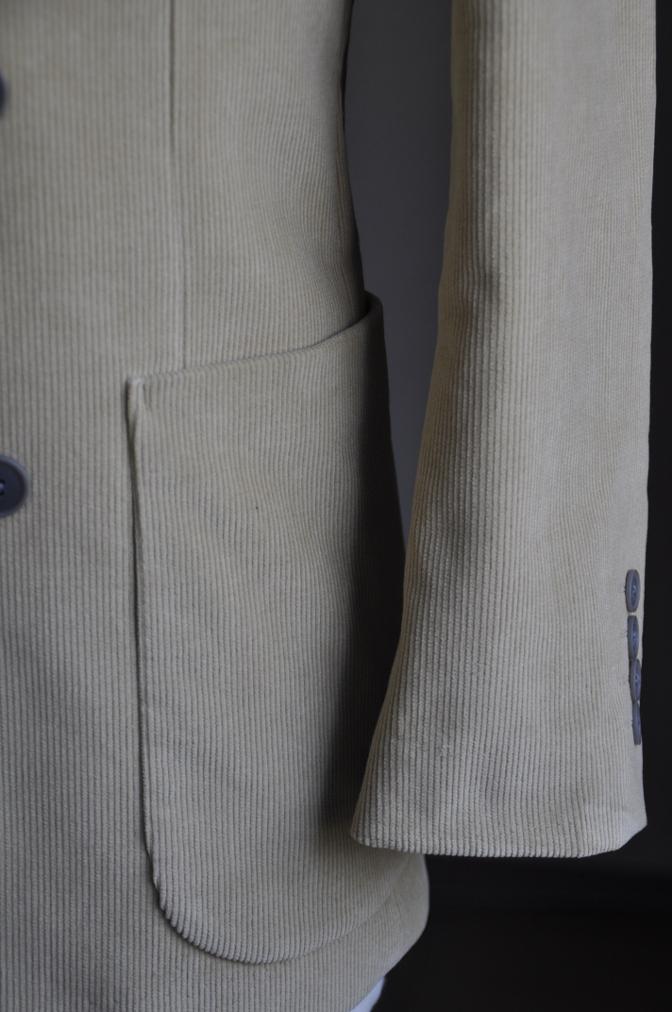DSC2701 オーダースーツの紹介-NIEDIECK キャメルコーデュロイ ダブルスーツ-
