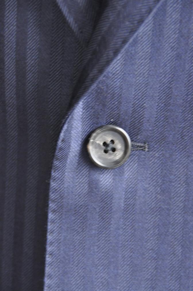 DSC2715 お客様のスーツの紹介-DARROW DALE ネイビーシャドウストライプ- 名古屋の完全予約制オーダースーツ専門店DEFFERT