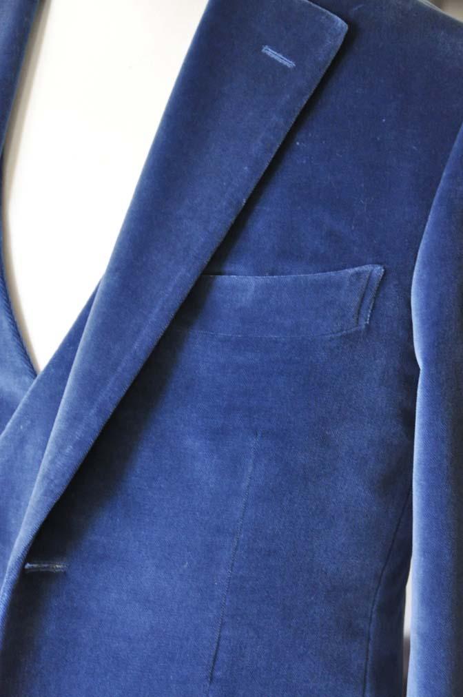 DSC2729-1 お客様のパーティー用スーツの紹介- NIEDIECK ネイビーベルベットスリーピース- 名古屋の完全予約制オーダースーツ専門店DEFFERT