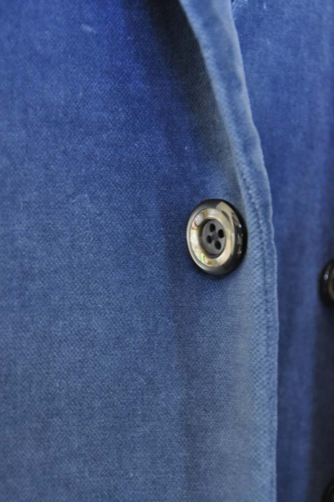 DSC2732-1 お客様のパーティー用スーツの紹介- NIEDIECK ネイビーベルベットスリーピース- 名古屋の完全予約制オーダースーツ専門店DEFFERT