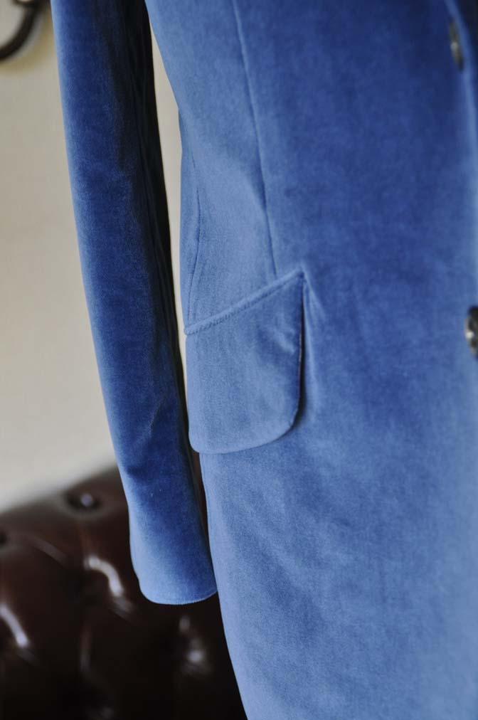 DSC2733-1 お客様のパーティー用スーツの紹介- NIEDIECK ネイビーベルベットスリーピース- 名古屋の完全予約制オーダースーツ専門店DEFFERT