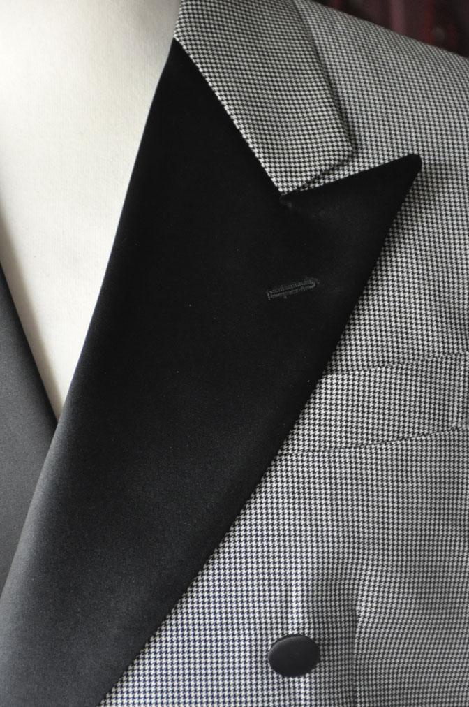 DSC27491 お客様のウエディング衣装の紹介-CANONICO 千鳥格子ダブルタキシード-