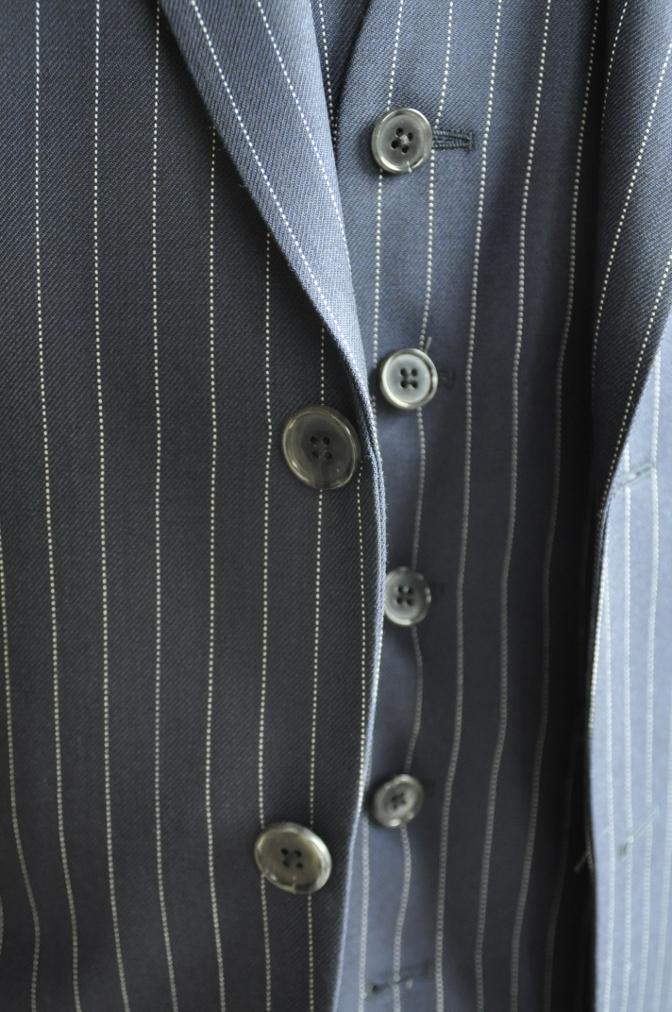 DSC2750 お客様のスーツの紹介-DARROW DALE ネイビーピンストライプ-