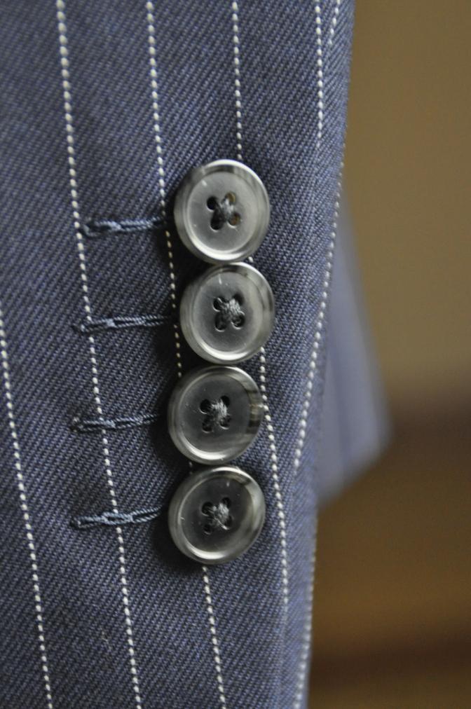 DSC2752 お客様のスーツの紹介-DARROW DALE ネイビーピンストライプ-