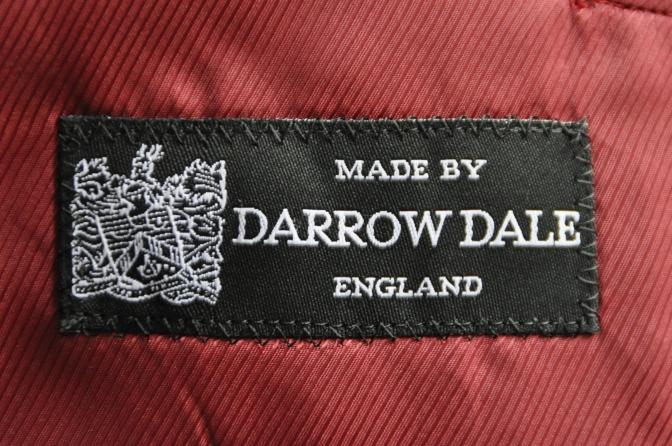 DSC2753 お客様のスーツの紹介-DARROW DALE ネイビーピンストライプ-