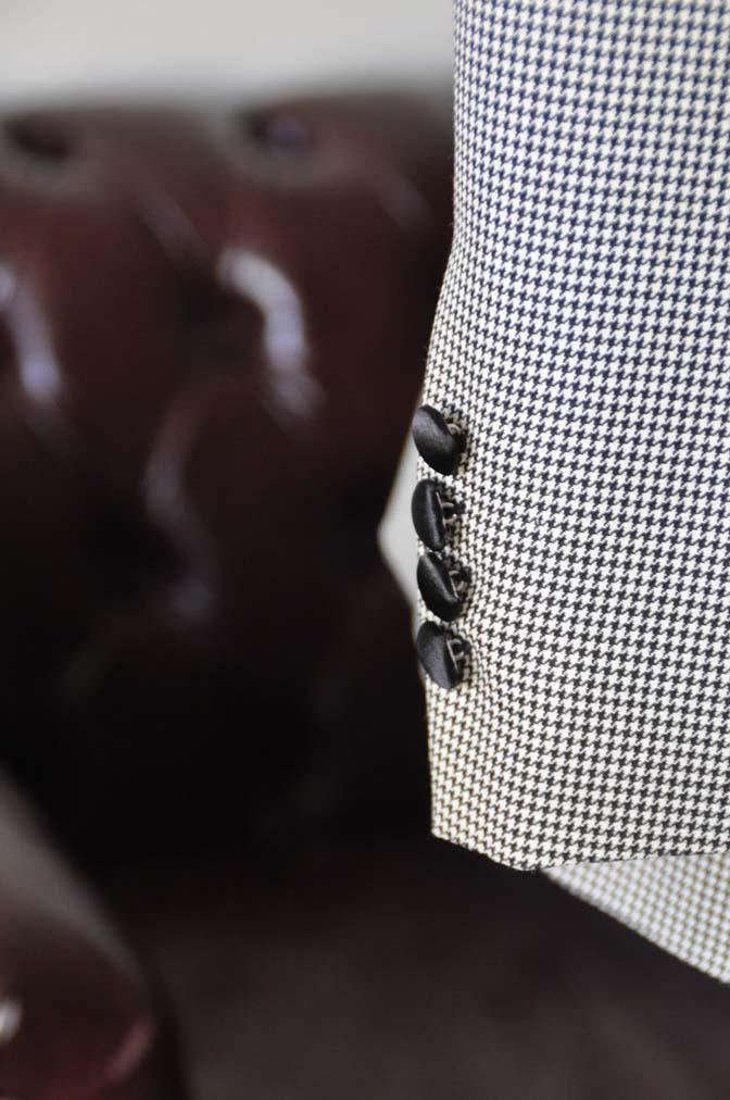 DSC27551 お客様のウエディング衣装の紹介- DARROW DALE 千鳥格子 ショールカラータキシード-