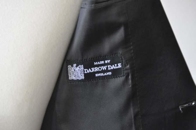 DSC2760 お客様のウエディング衣装の紹介- DARROW DALE 千鳥格子 ショールカラータキシード-