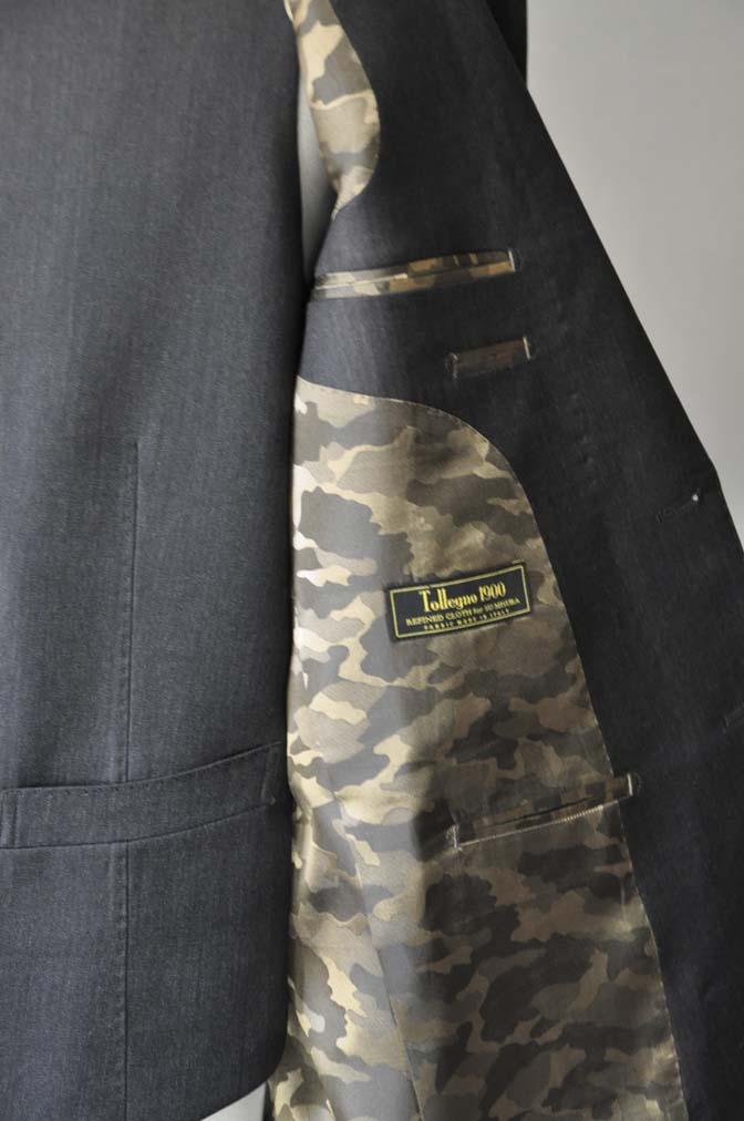 DSC2788 お客様のスーツの紹介- Tollegno 無地ブラウン スリーピーススーツ- 名古屋の完全予約制オーダースーツ専門店DEFFERT