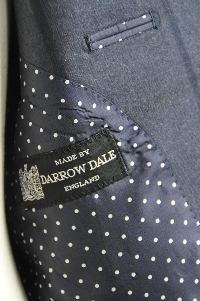DSC2802 お客様のスーツの紹介-DARROW DALE ネイビーチェック-