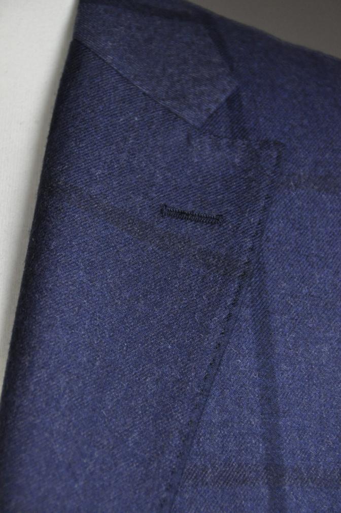 DSC2806 お客様のスーツの紹介-DARROW DALE ネイビーチェック-