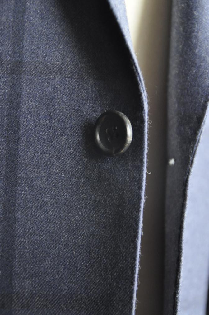 DSC2809 お客様のスーツの紹介-DARROW DALE ネイビーチェック-