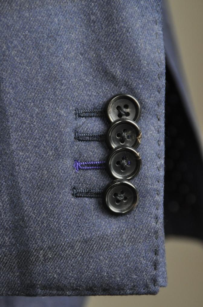 DSC2810 お客様のスーツの紹介-DARROW DALE ネイビーチェック-
