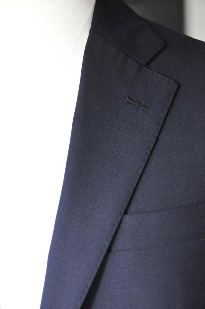 DSC2839 お客様のスーツの紹介-DARROW DALE 無地ネイビースーツ-