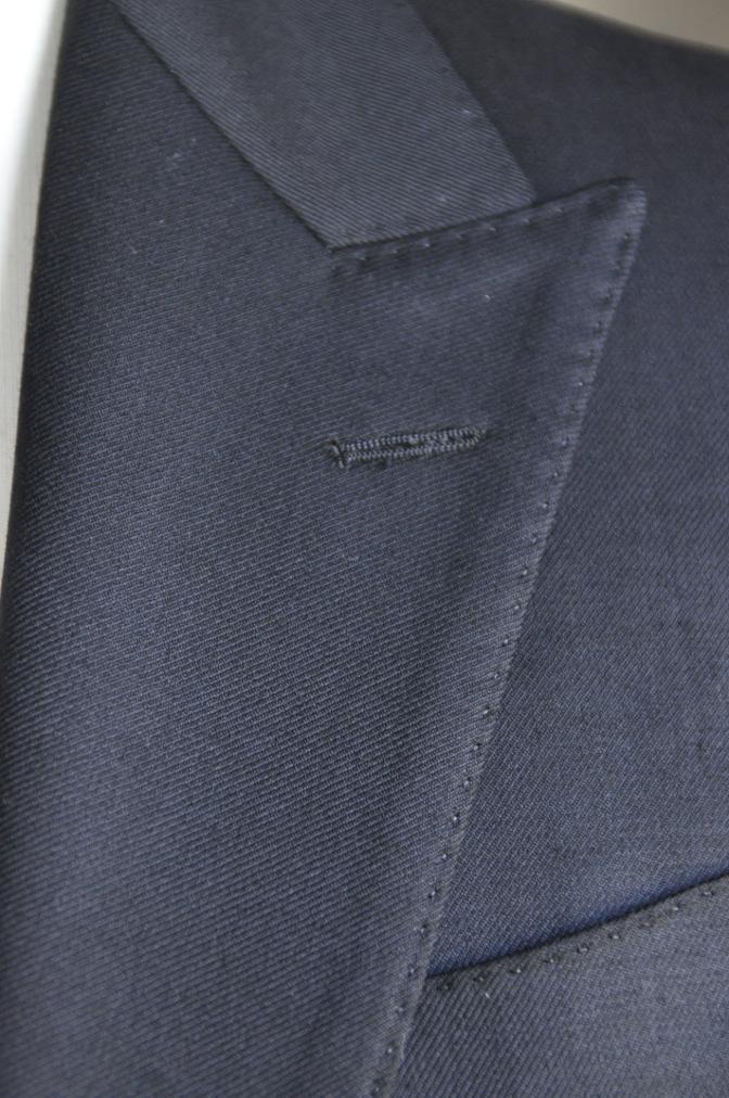 DSC2863 お客様のスーツの紹介-BIELLESI ブラックスーツ-