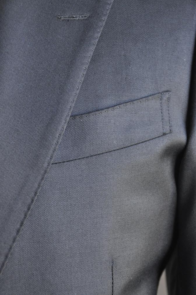 DSC2864 お客様のスーツの紹介-BIELLESI ブラックスーツ-