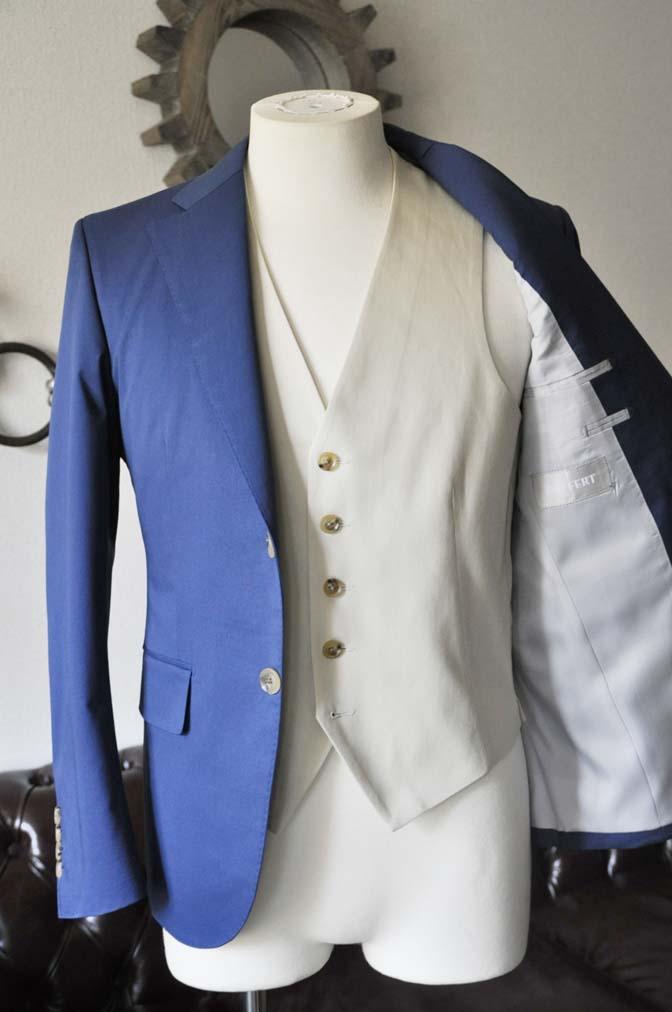 DSC2877-1 お客様のウエディング衣装の紹介-ネイビーコットンスーツ ホワイトベスト-DSC2877-1 お客様のウエディング衣装の紹介-ネイビーコットンスーツ ホワイトベスト- 名古屋市のオーダータキシードはSTAIRSへ
