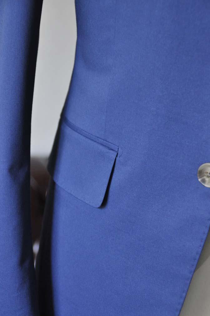 DSC2885 お客様のウエディング衣装の紹介-ネイビーコットンスーツ ホワイトベスト- 名古屋の完全予約制オーダースーツ専門店DEFFERT