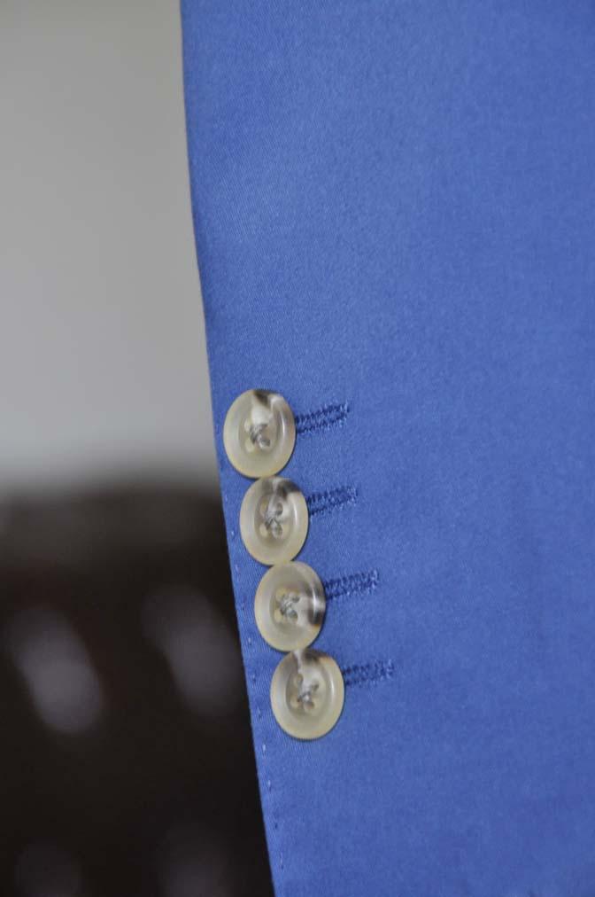 DSC2888 お客様のウエディング衣装の紹介-ネイビーコットンスーツ ホワイトベスト- 名古屋の完全予約制オーダースーツ専門店DEFFERT