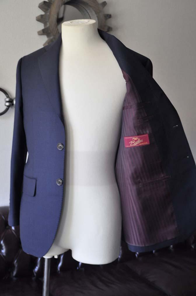 DSC2892-1 お客様のスーツの紹介- Biellesi ネイビーバーズアイ-