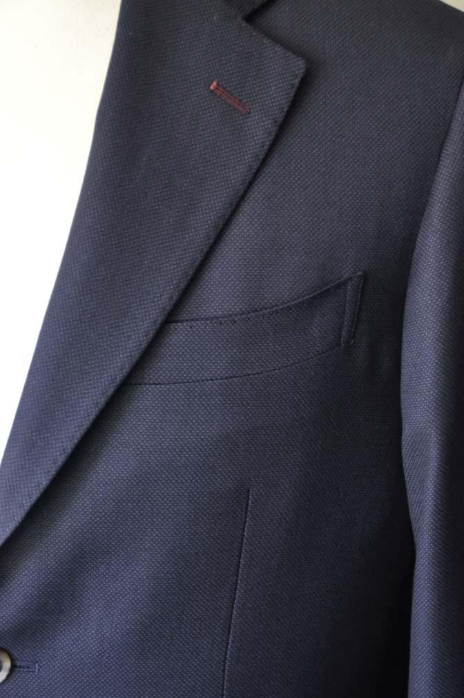 DSC2899-1 お客様のスーツの紹介- Biellesi ネイビーバーズアイ-
