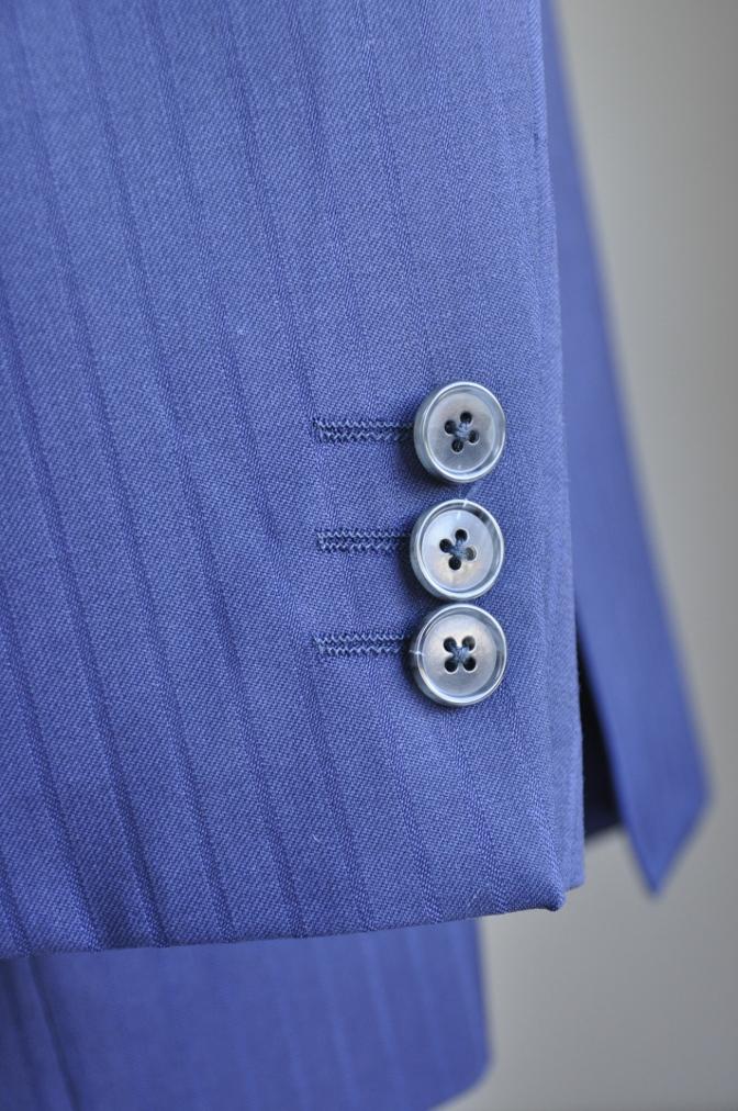 DSC2995 お客様のスーツの紹介-BIELLESIネイビーストライプ-