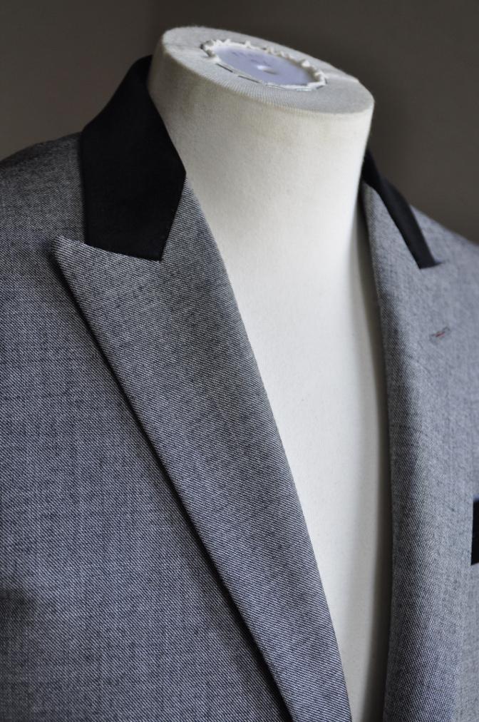 DSC3011 お客様のジャケットの紹介-グレー エドワードジャケット-