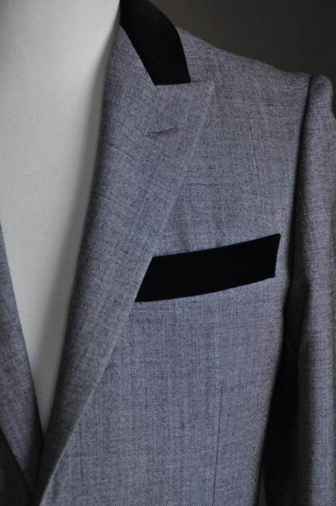 DSC3012 お客様のジャケットの紹介-グレー エドワードジャケット-