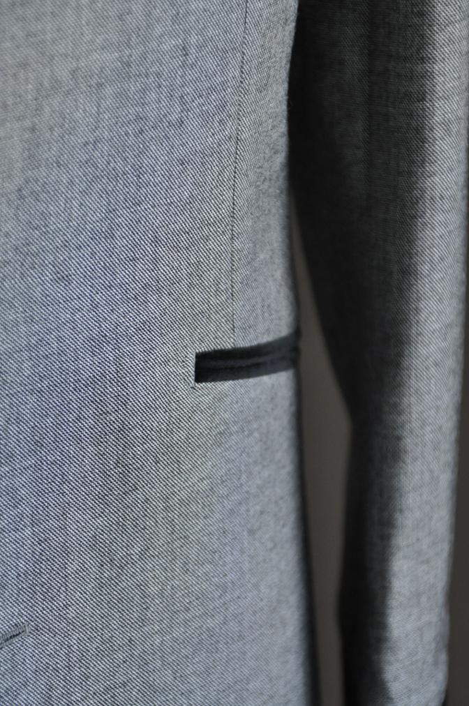 DSC3017 お客様のジャケットの紹介-グレー エドワードジャケット-