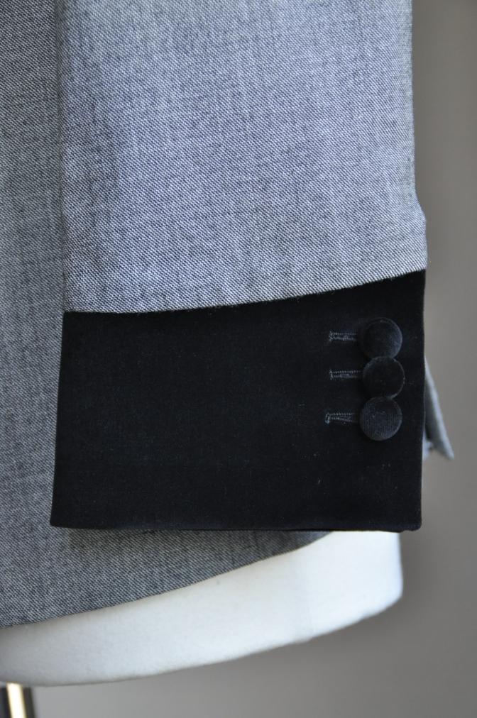 DSC3020 お客様のジャケットの紹介-グレー エドワードジャケット-