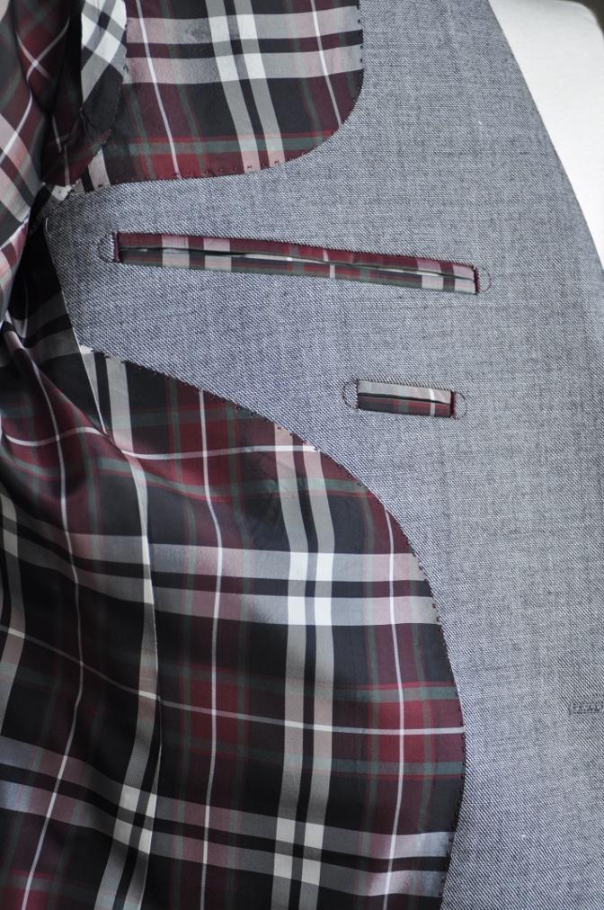 DSC3040 お客様のジャケットの紹介-グレー エドワードジャケット-