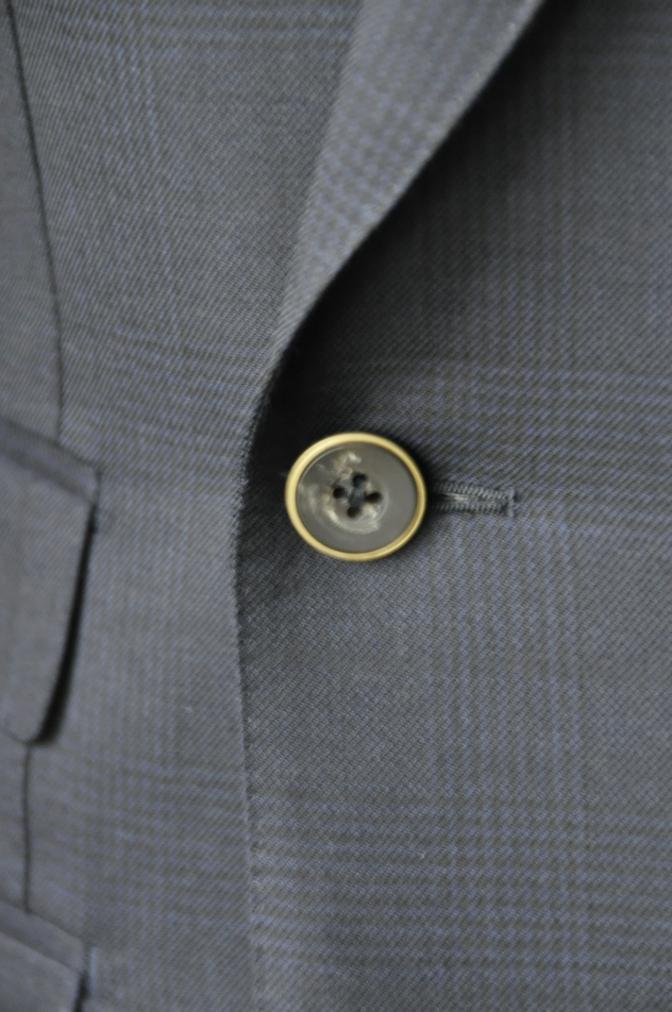 DSC31551 お客様のスーツの紹介-DARROW DALE ネイビーグレンチェック-