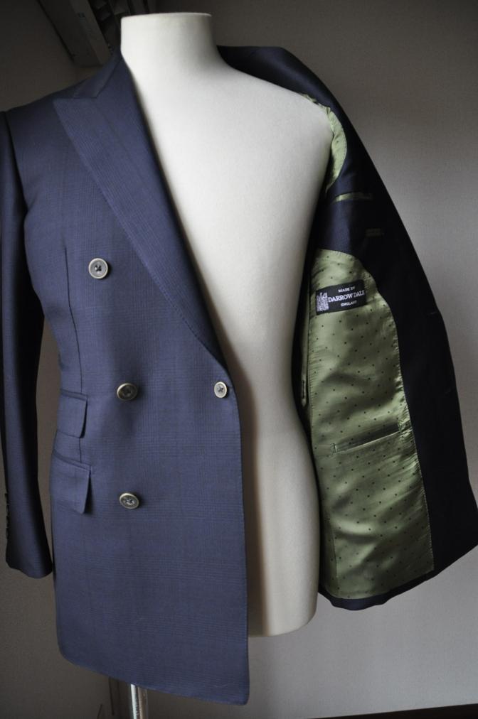 DSC31591 お客様のスーツの紹介-DARROW DALE ネイビーグレンチェック-