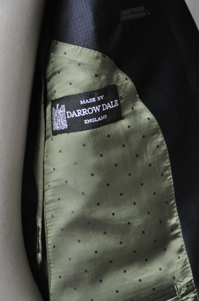 DSC31601 お客様のスーツの紹介-DARROW DALE ネイビーグレンチェック-