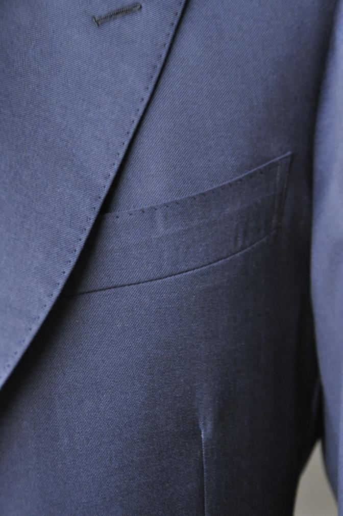 DSC3174 お客様のスーツの紹介-TALLIA  DI  DELFINO ネイビースリーピース-