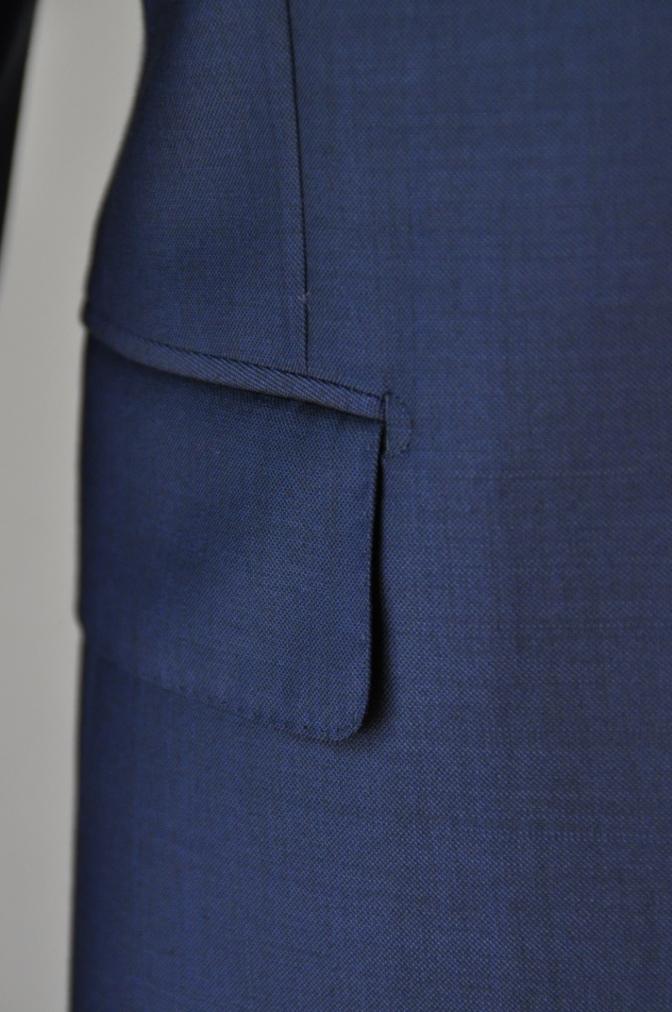 DSC32401 お客様のスーツの紹介-CANONICO 無地ネイビースーツ-