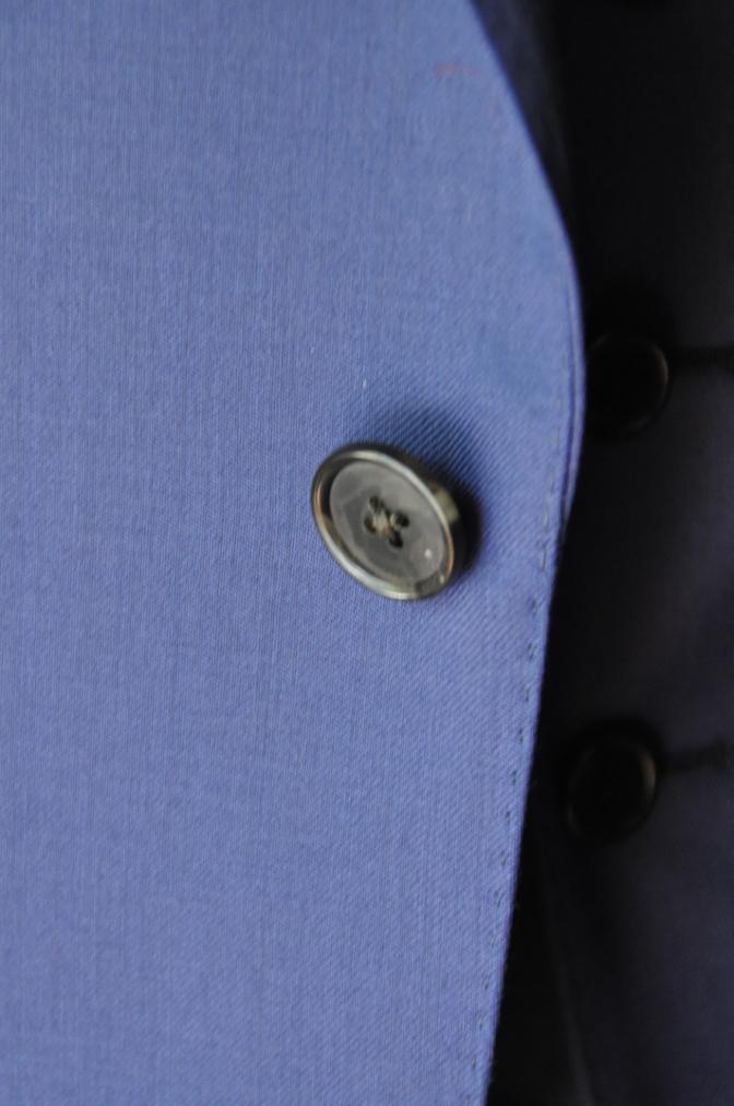 DSC3251 お客様のウエディング衣装の紹介-BIELLESI無地ネイビースリーピース-