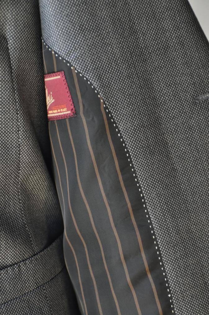 DSC3260 お客様のスーツの紹介-BIELLESI グレーバーズアイ-