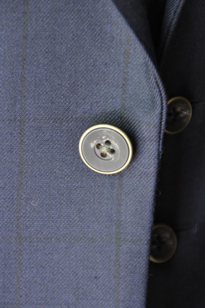 DSC32651 お客様のスーツの紹介-DARROW DALEネイビーウィンドペーンスリーピース-