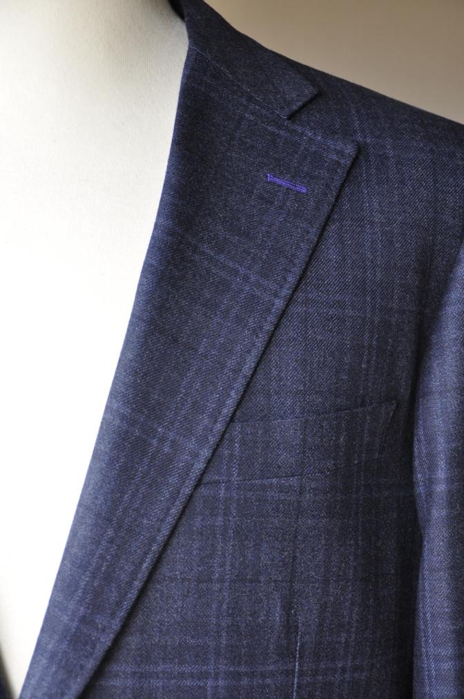 DSC3299 お客様のスーツの紹介-Ermenegild Zegna/Heritage ゼニア/ヘリテージ ネイビーチェック-