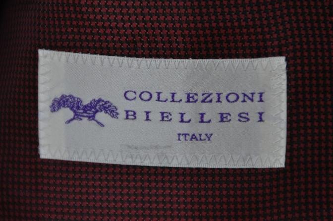 DSC3353 お客様のスーツの紹介-COLLEZIONI BIELLESI ブラック-