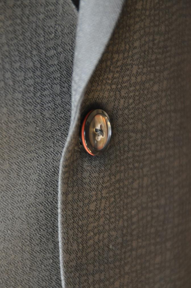 DSC3358 お客様のスーツの紹介-COLLEZIONI BIELLESI ブラック-
