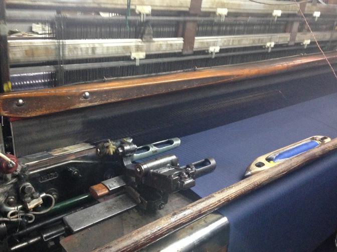 IMG_1690 御幸毛織 工場見学レポート(2) 製織工場 一宮へ