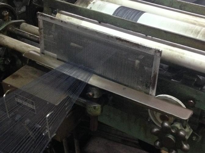 IMG_1706 御幸毛織 工場見学レポート(2) 製織工場 一宮へ