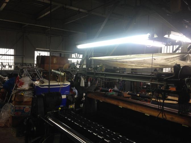 IMG_1709 御幸毛織 工場見学レポート(2) 製織工場 一宮へ