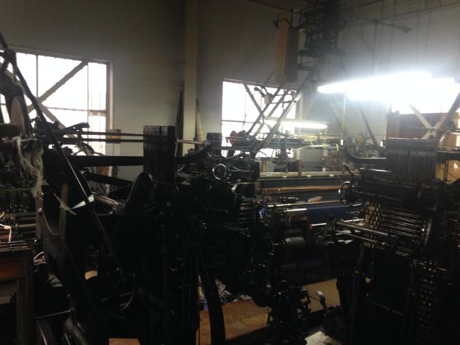 IMG_1710 御幸毛織 工場見学レポート(2) 製織工場 一宮へ