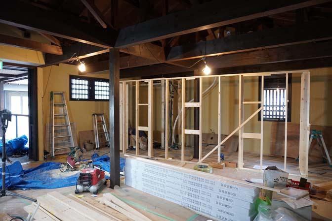 IMG_5444 着々と進む内装工事。 名古屋の完全予約制オーダースーツ専門店DEFFERT