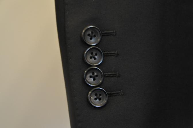 Sb スーツの袖ボタンは何の為の物??