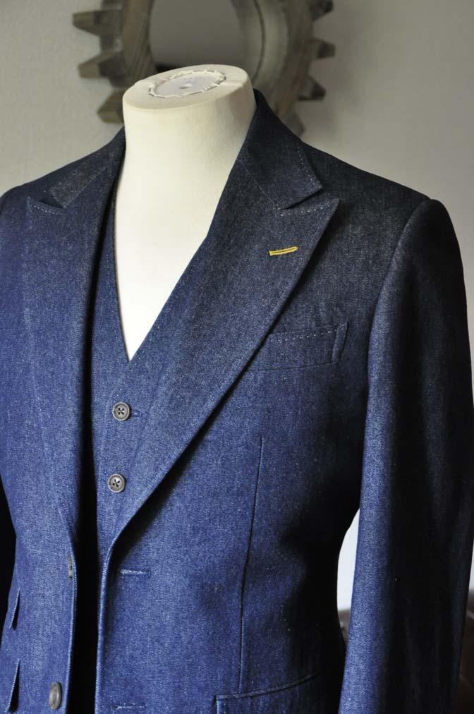 TC_DSC0022 お客様のスーツの紹介 名古屋の完全予約制オーダースーツ専門店DEFFERT