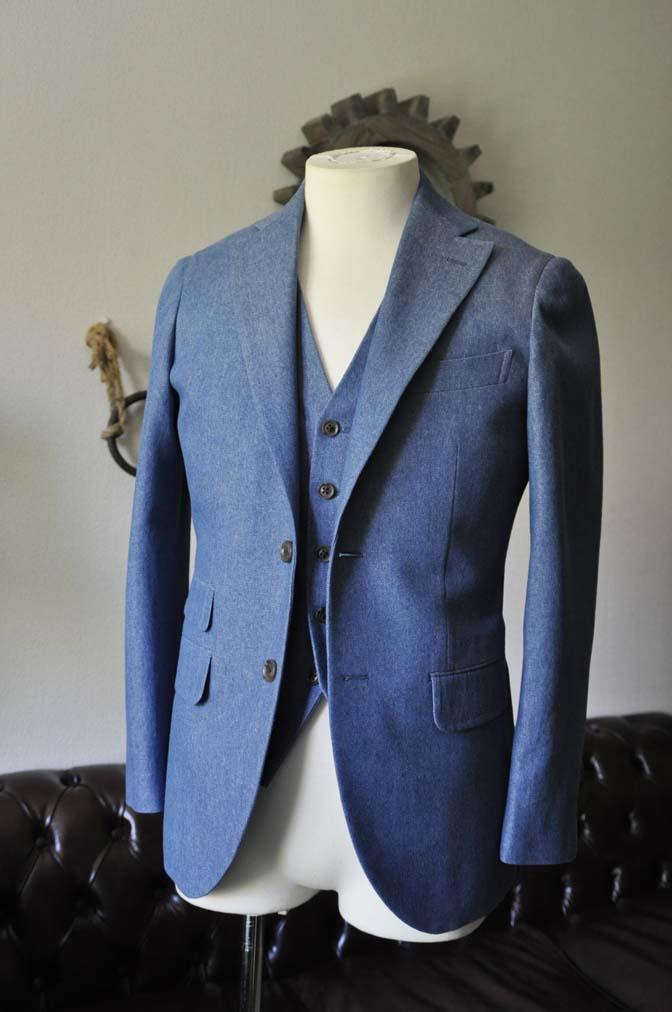 TC_DSC0171 お客様のスーツの紹介 名古屋の完全予約制オーダースーツ専門店DEFFERT